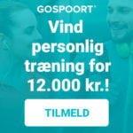 vind 12.000 kr. til personlig træning